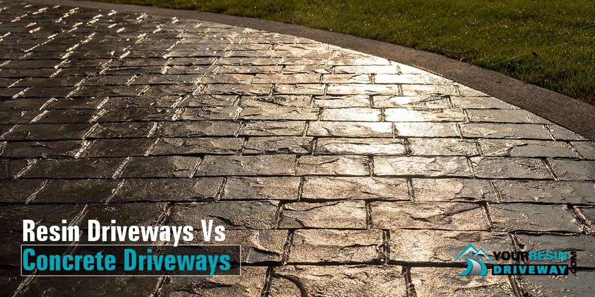 Resin Vs Concrete Driveways
